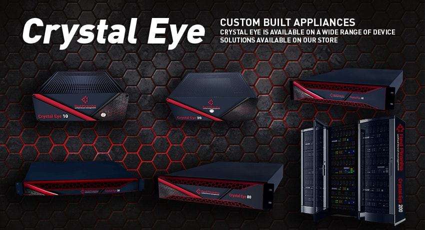 Red Piranha Crystal Eye UTM - Devices