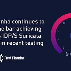 Red Piranha achieves 60Gbps IDS/S Suricata thruput