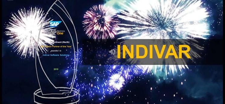 Indivar - SAP Impact Partner of Year 2019
