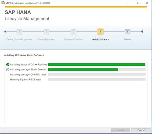 SAP HANA Studio Install - 4