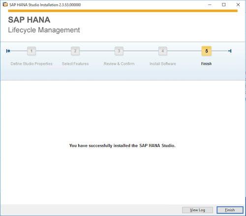 SAP HANA Studio Install - 5
