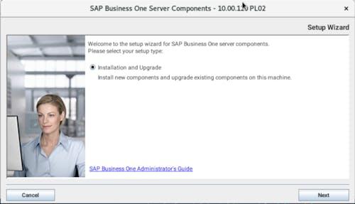 Install SAP B1 - 1