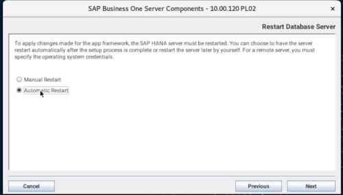 Install SAP B1 - 16