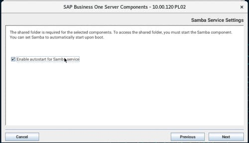 Install SAP B1 - 18