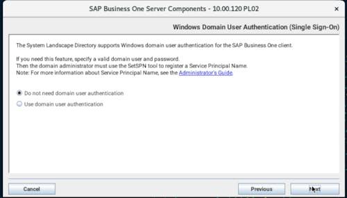Install SAP B1 - 19