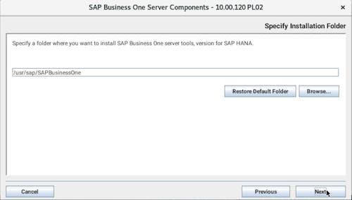 Install SAP B1 - 2