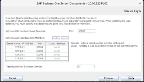 Install SAP B1 - 20