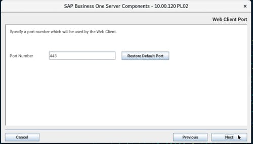 Install SAP B1 - 21