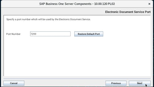 Install SAP B1 - 22
