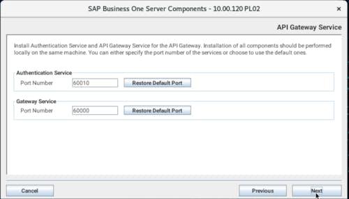 Install SAP B1 - 23
