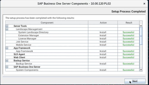Install SAP B1 - 24