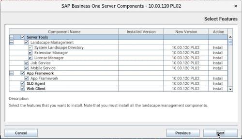 Install SAP B1 - 3