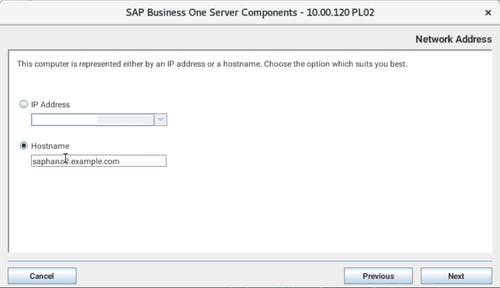 Install SAP B1 - 4