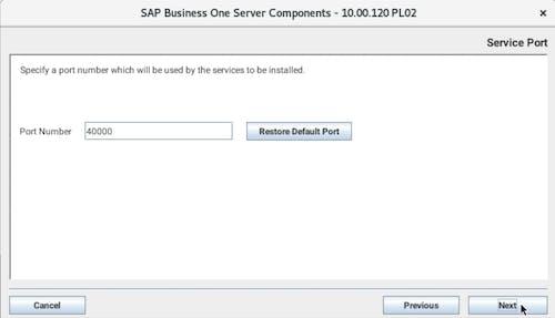 Install SAP B1 - 5