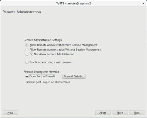 Install VNC on SUSE - 3