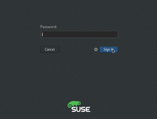 Login to SUSE